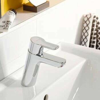 Mitigeur de lavabo Kludi Pure & Easy 100 Chromé