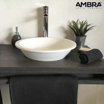 Vasque à poser en solid surface 41 cm - Bloom