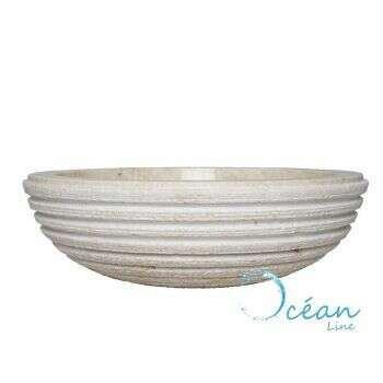 Vasque en marbre 40 cm - Parma