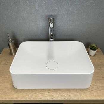 Belle vasque rectangulaire Valéria