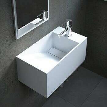 Lave-mains suspendu Rhéa D - 56 cm