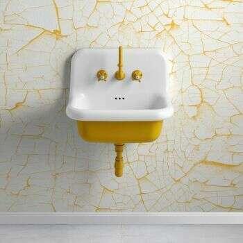 Vasque suspendue True Colors en céramique