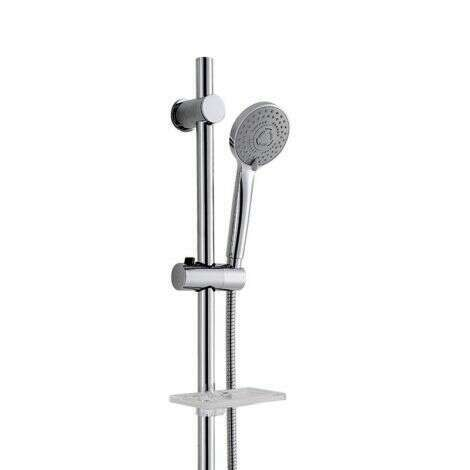 Barre de douche en laiton avec douchette - Kana