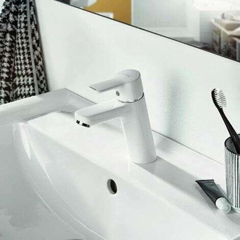 Mitigeur de lavabo Kludi Pure & Easy 100 Blanc