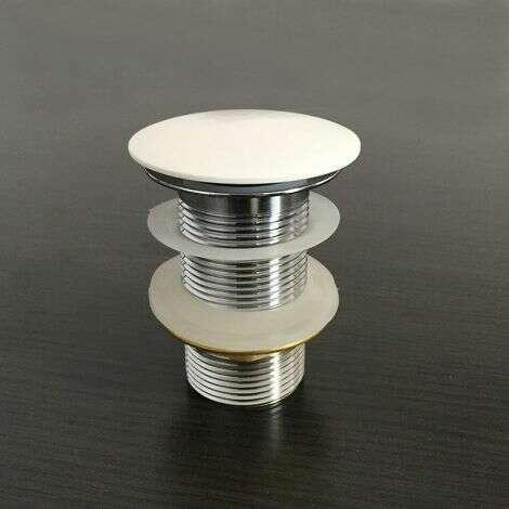 Bonde pour vasque + cache en solid surface