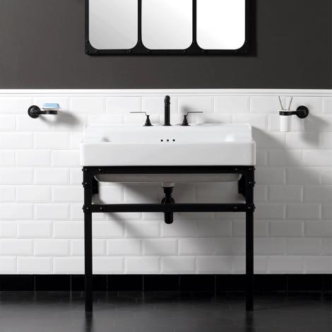 Très joli lavabo rétro en 90 cm