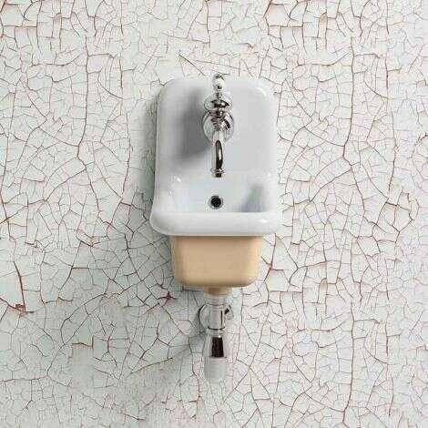 Lavabo école céramique 26 cm - Beige