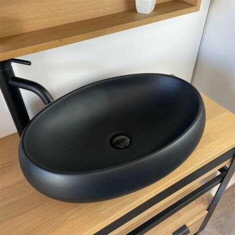 Vasque 60 cm ovale
