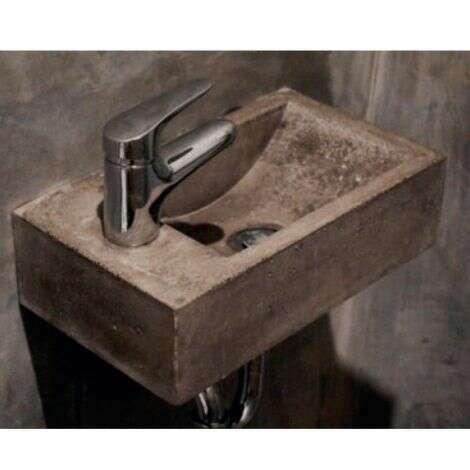 Lave Mains 40 cm - Moka Granit Line