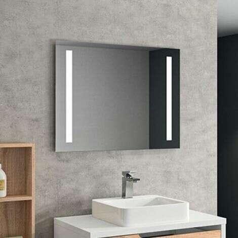 Miroir éclairant LED 80 cm