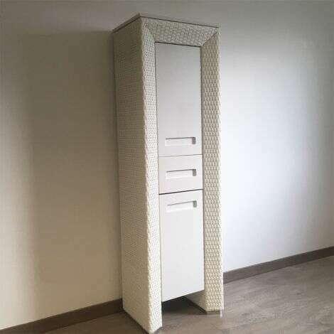 Colonne en aluminium collection Charleston