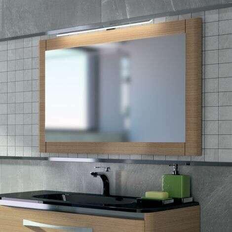 Miroir 90 cm en chêne blanchi - ELI