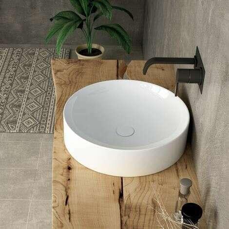 Vasque à poser India en céramique 43 cm