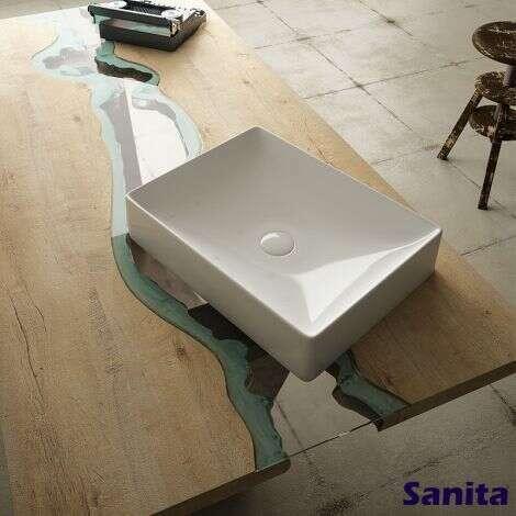 Vasque Julia rectangulaire 50 cm - Julia
