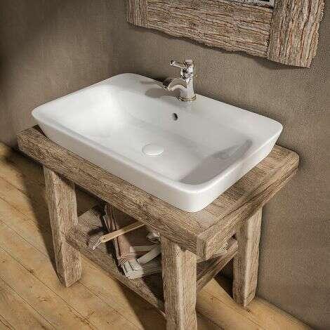 Vasque en céramique Kenya 65 cm