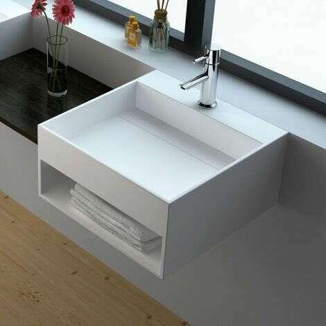 Lave-mains à suspendre ou poser 50 cm - Kora