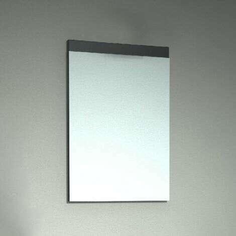 Miroir bandeau 80 cm Chêne grisé - Beop