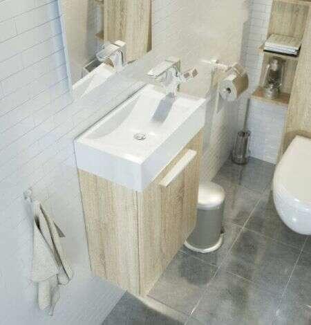 Lave-mains ou point d'eau à suspendre Chêne Clair - Beop