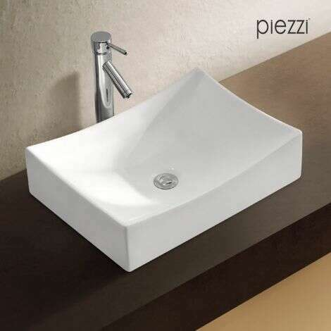 Vasque rectangulaire en céramique - Agata