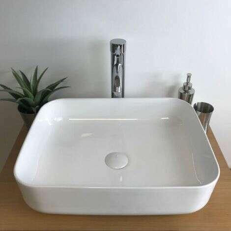 Vasque Flora rectangulaire