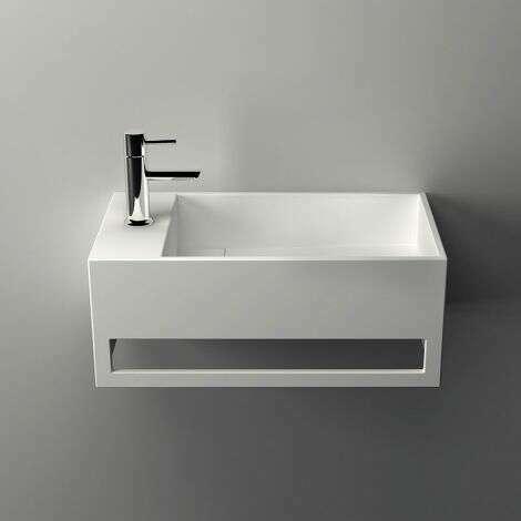 Lave mains Mona G en solid surface - 50cm